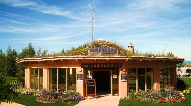 Casa ecológica de balas de paja